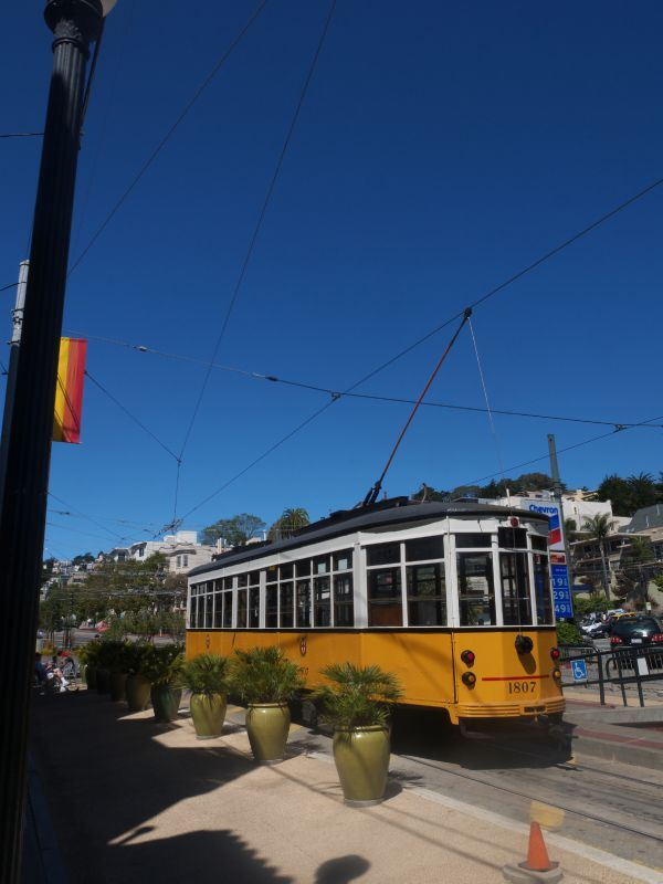 San Francisco cable car Castro