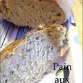 Pain aux céréales, avec une croûte bien croustillante!