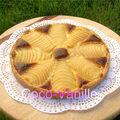 Tarte amandine aux poires (tarte bourdaloue)