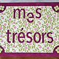 MES TRESORS 2