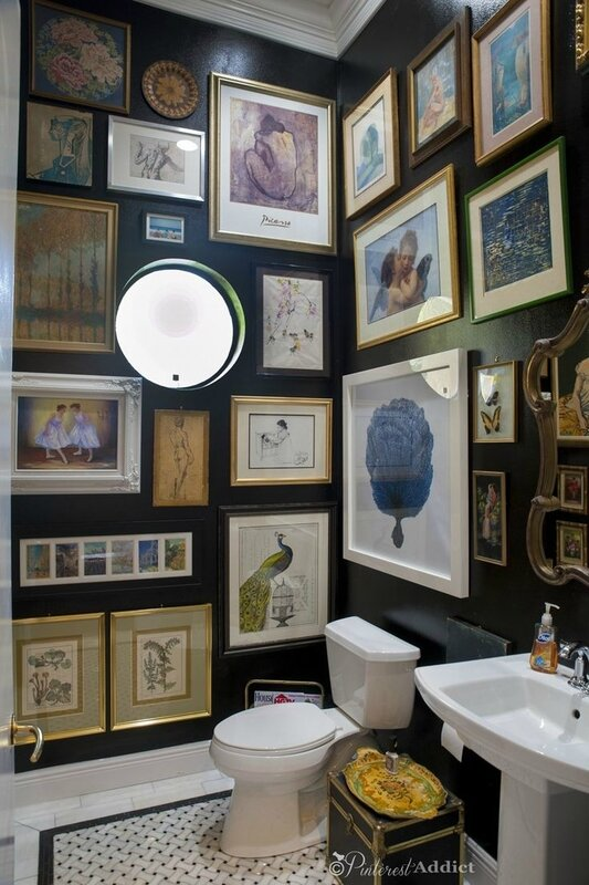 wall-powder-room-wall-art