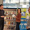Saint-denis : empruntez vos romans dans un kiosque automatisé !