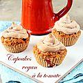 Cupcakes vegan à la tomate (recette salée)