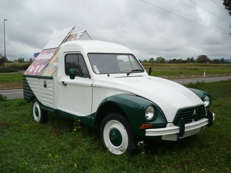 CITROËN Acadiane pick-up publicitaire Algolsheim (1)