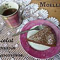Moelleux au chocolat, mascarpone et sarrasin