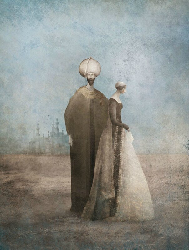 Gabriel Pacheco 1973 - Mexican Surrealist Visionary painter - Tutt'Art@ (17)