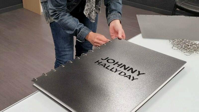 un livre taille XXL sur Johnny