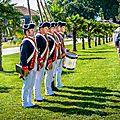 Groupe la fayette (guerre d'indépendance américaine 1775 – 1783) au 350 ans de rochefort