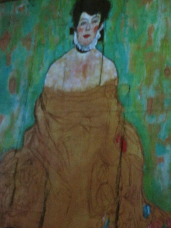 Portrait d'Amalie Zuckerandl - 1912-1913 Klimt Exposition