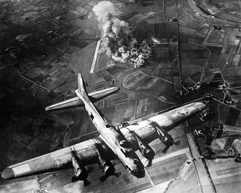 Bombardier B-17 de la 8ème armée de l'air américaine