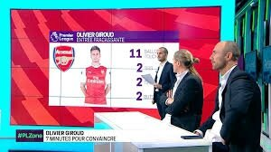 but Giroud, giroud dugarry, cristophe dugarry, interview giroud sfr