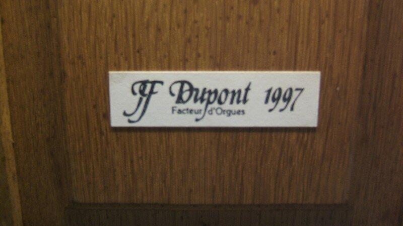 JF Dupont est un des facteurs les plus présents dans le Calvados
