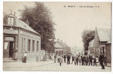 59 - MARETZ - Rue de Busigny