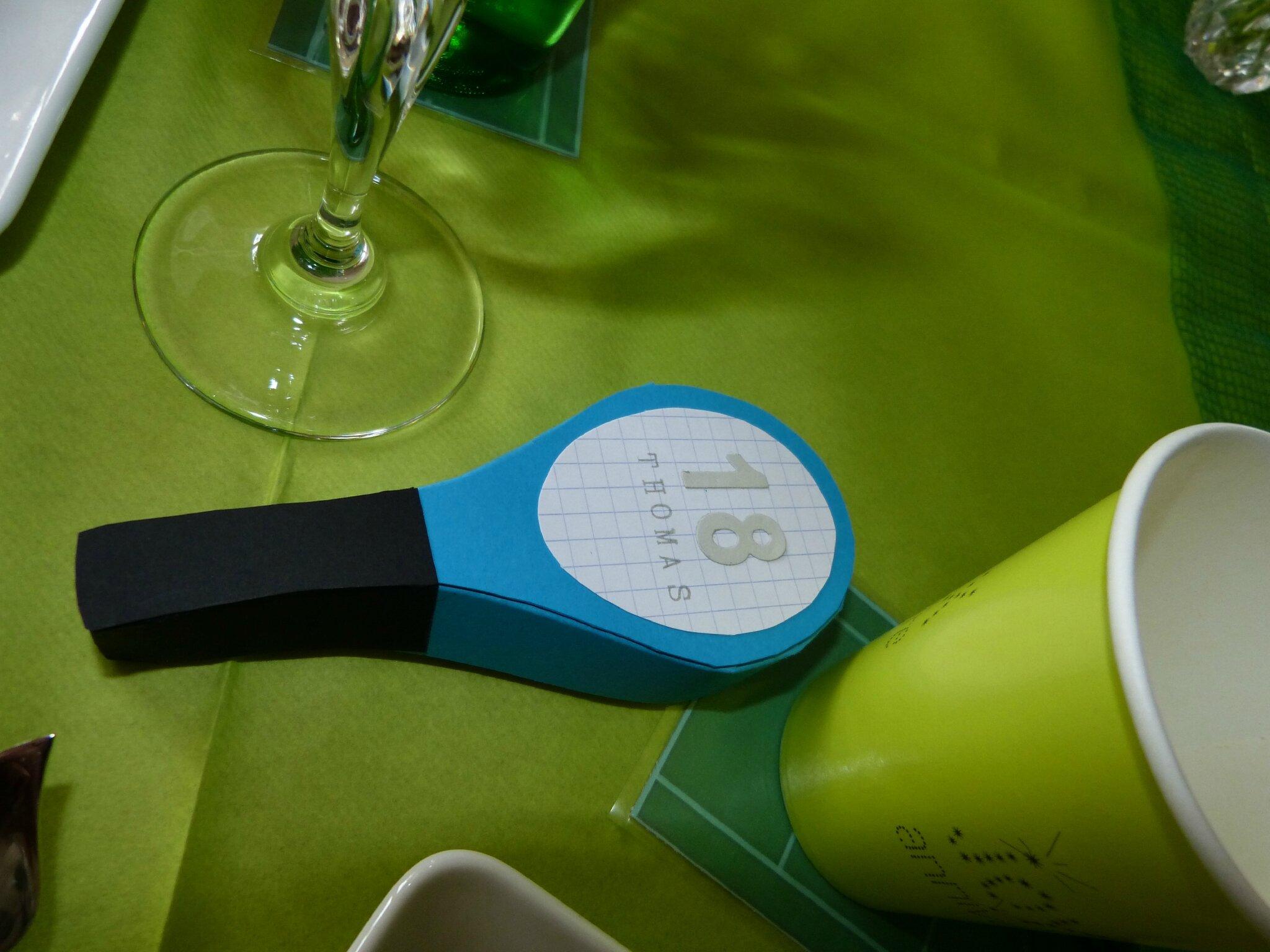 Filet De Tennis Decoration De Table
