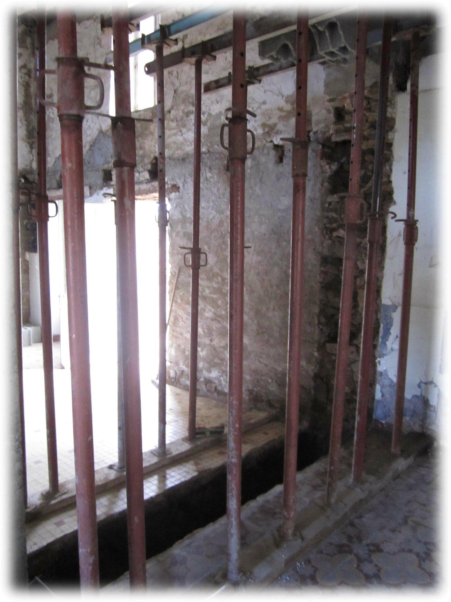 Poutre poteau b ton et ouverture du mur porteur notre for Fenetre mur porteur