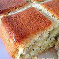 { Poppyseed lemon cake }