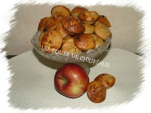 Muffins pommes 7