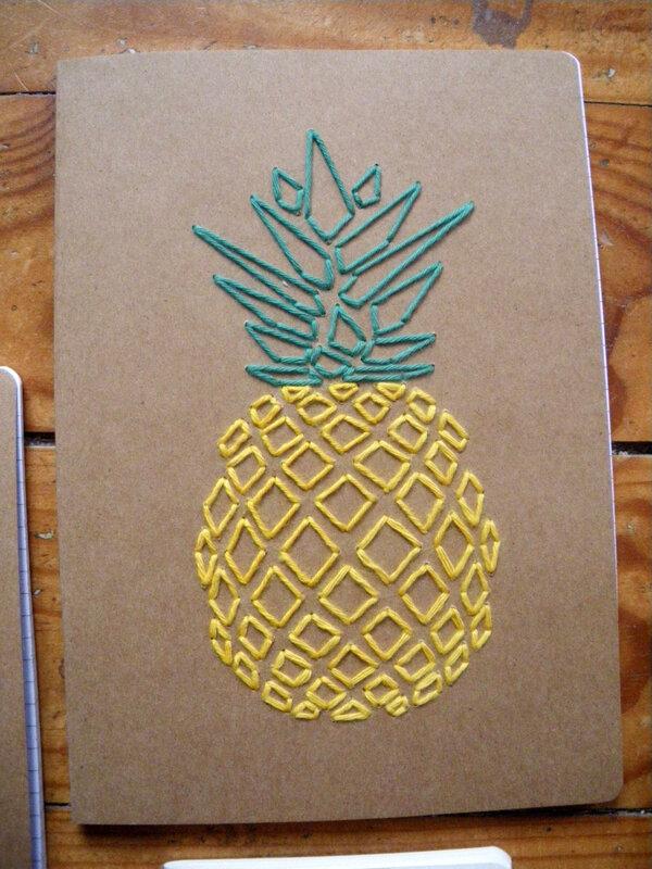 Gd carnet ananas