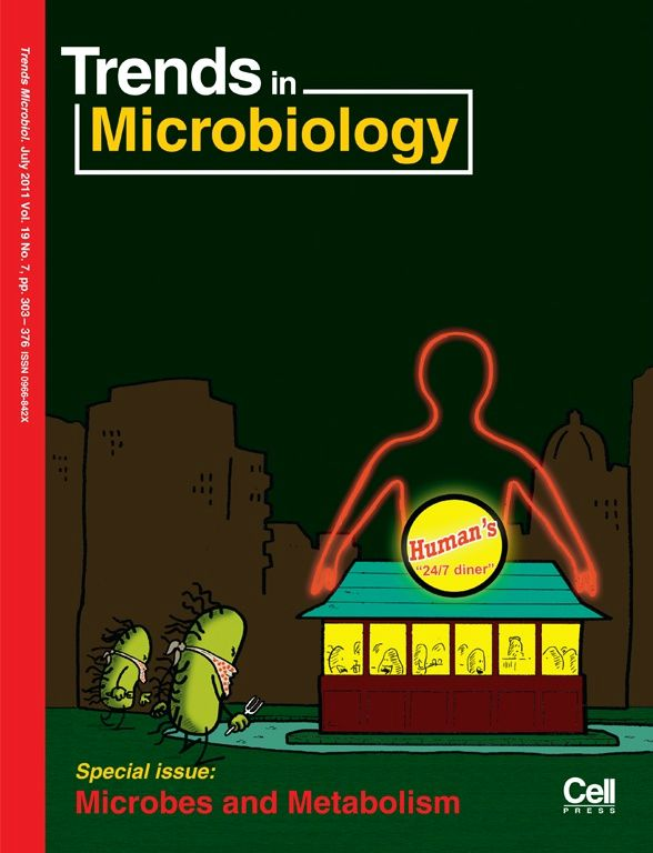Couverture de Trends of Microbiology