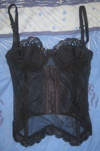 bustier tulle 85A 7€ '