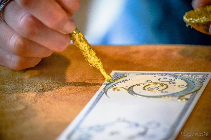 cité médiévale ancien métier enlumineur scripte enluminure (1)