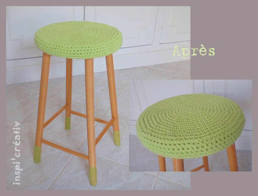 Inspirations cr atives page 5 inspirations cr atives - Housse pour tabouret rond ...