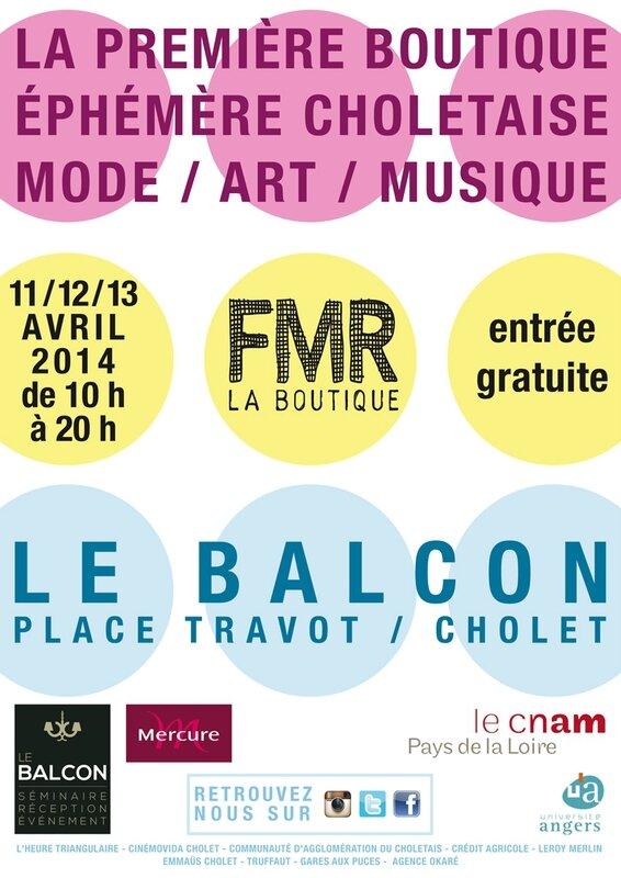 Affiche FMR La boutique