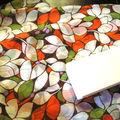 Polyester multicolore