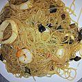 Nouilles chinoises aux légumes et jambon blanc ig bas gp et pl