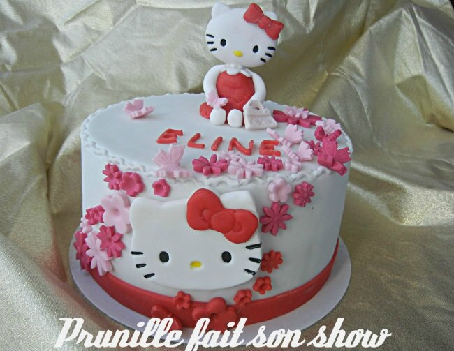 gateau hello kitty prunillefee