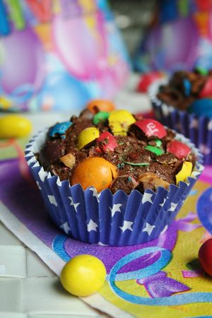 brownies au M&Ms 3