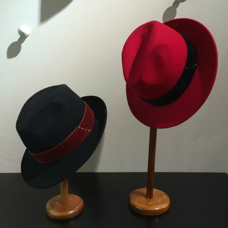 fin septembre 2015 Boutique Avant-Après 29 rue Foch 34000 Montpellier chapeaux laine GI'N'GI made in ITALY TOSCANE (3)