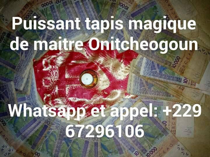 TAPIS MAGIQUE QUI VOMIT DE L'ARGENT