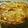 galette pommes - frangipane