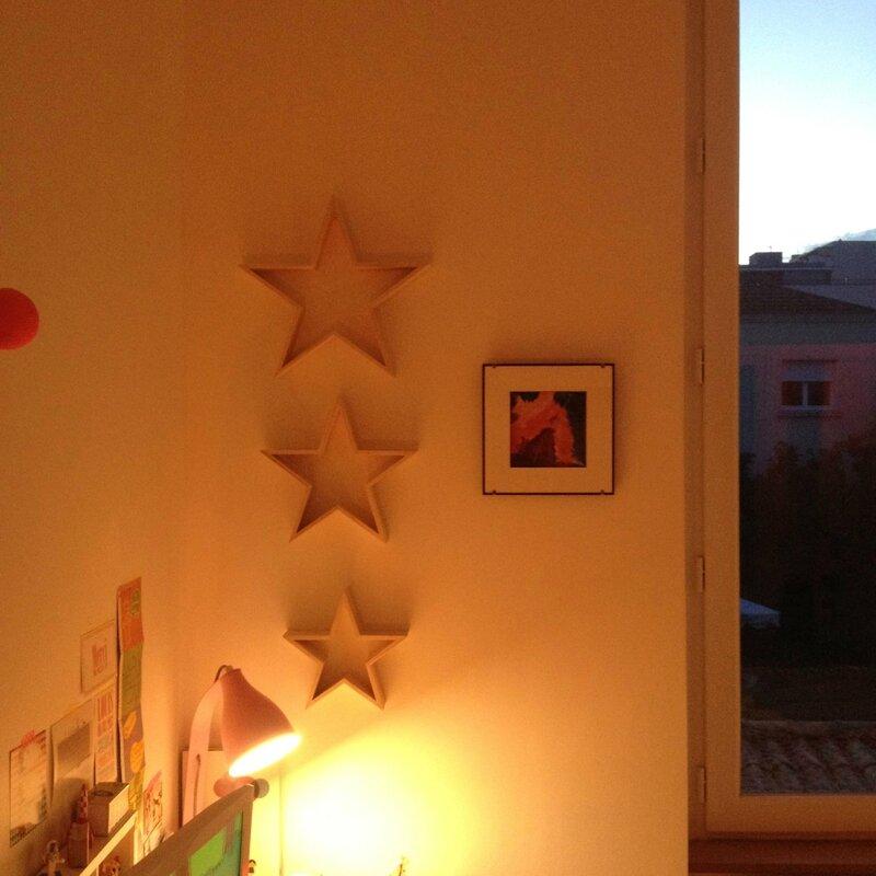 Etoiles décoration Noël Hema