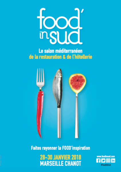 affiche food in sud