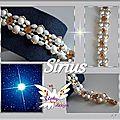 planche SIRIUS bracelet