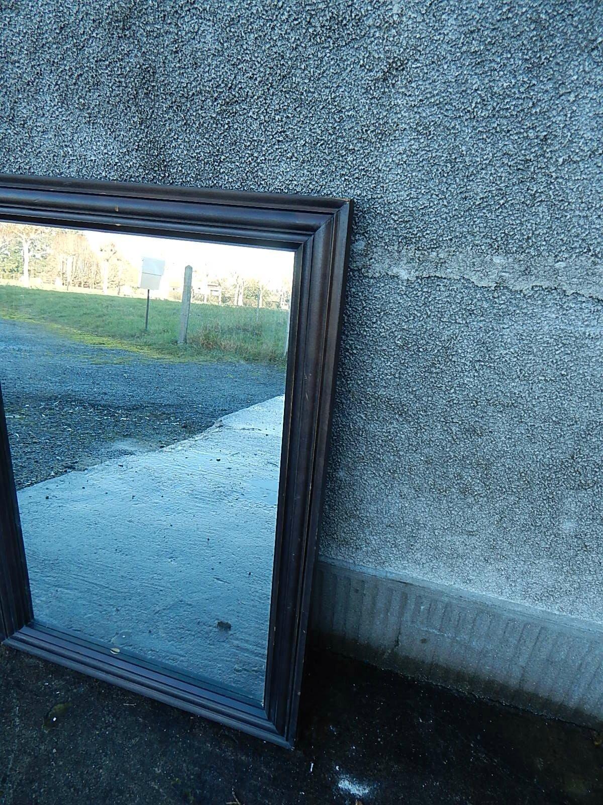 Miroir noir la petite brocanteuse for Miroir paris 18
