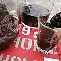 Pruneaux au vin et au rhum