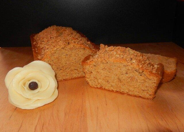 Cake aux gaufrettes saveur praliné