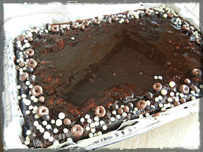miroir au chocolat pour gateau