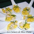 Ceviche de ptoncles  la mangue