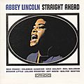 Abbey Lincoln - 1961 - Straight Ahead (Candid)