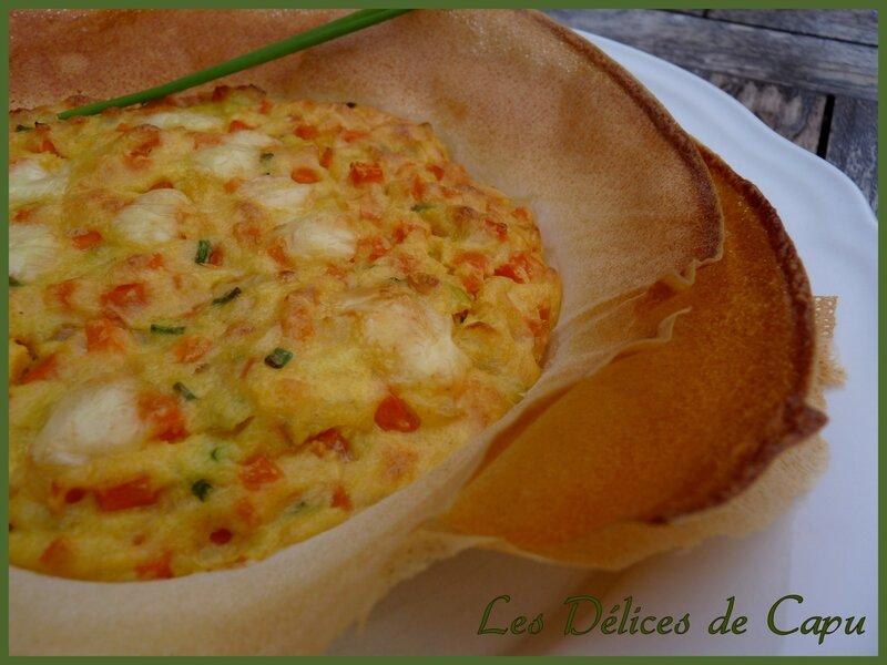 tartelette croustillante à la polenta1