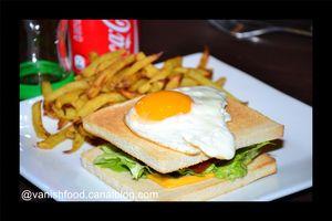 cork'burger-oeuf au plat-viande hachée