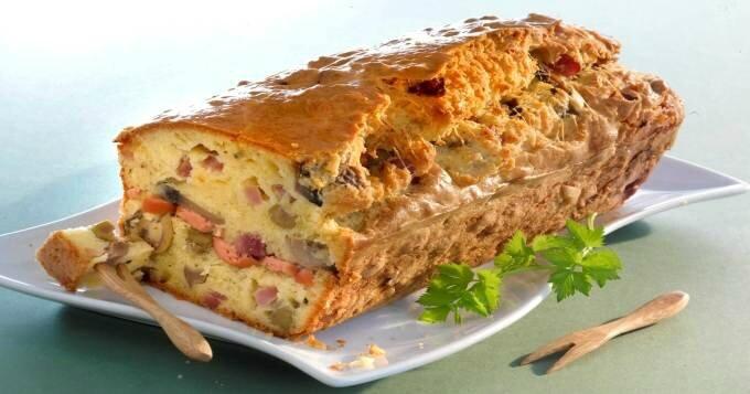 Délices d'Annie - Cake salé2