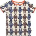 T-shirt enfant avec des robots