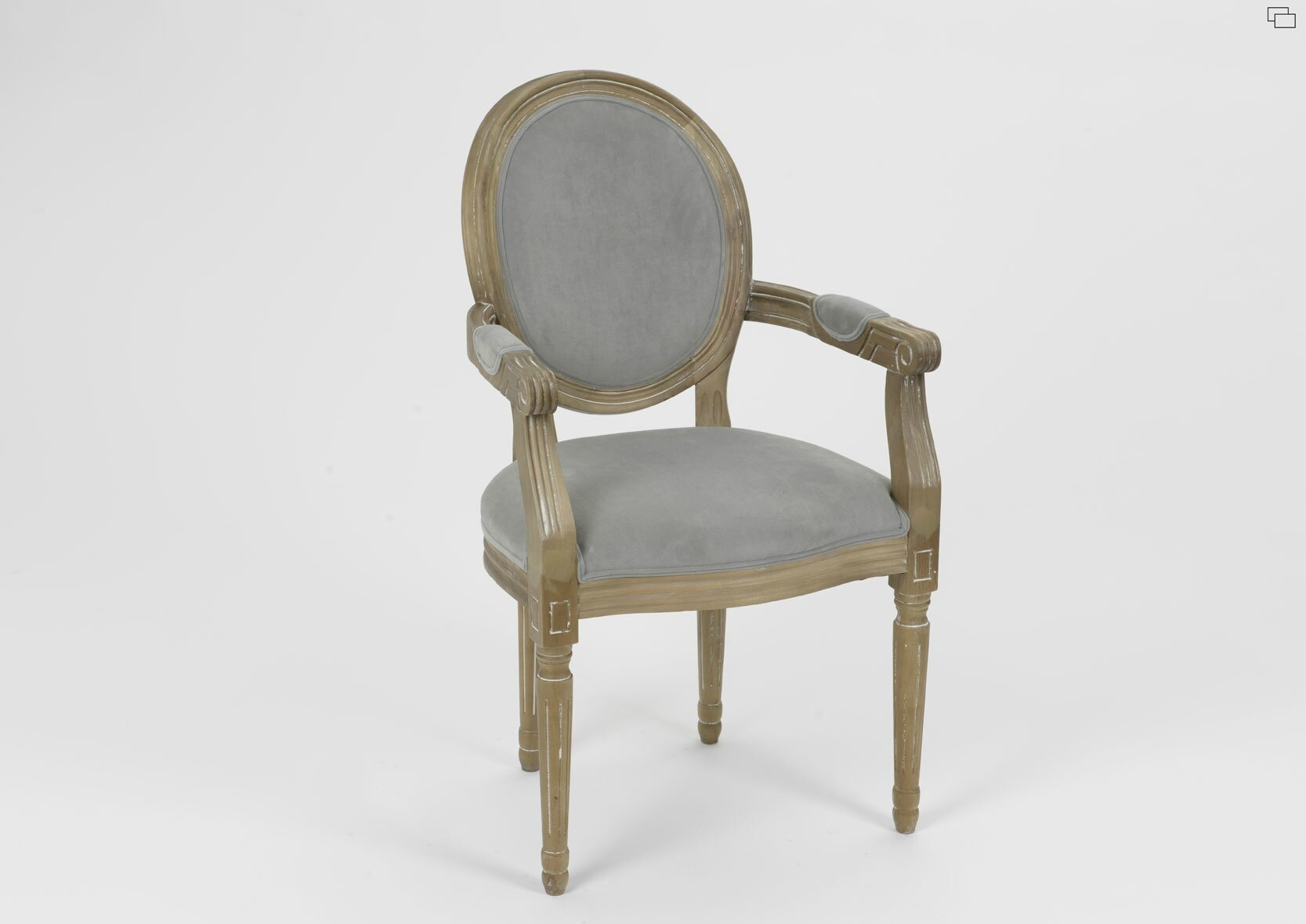 Chaise louis xvi pas cher for Chaise medaillon pas cher