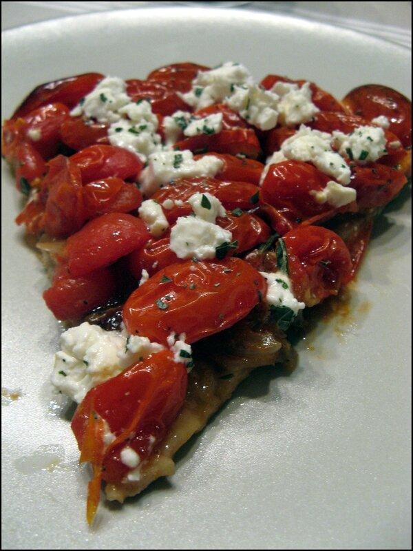 tarte tomate cerise part
