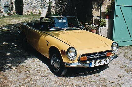 HONDA - S 800 Cabriolet - 1970